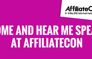 AffiliateCon Sofia 2019